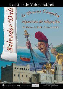 FUNIBER-Dalí-Castillo-de-Valderrobres-cartel