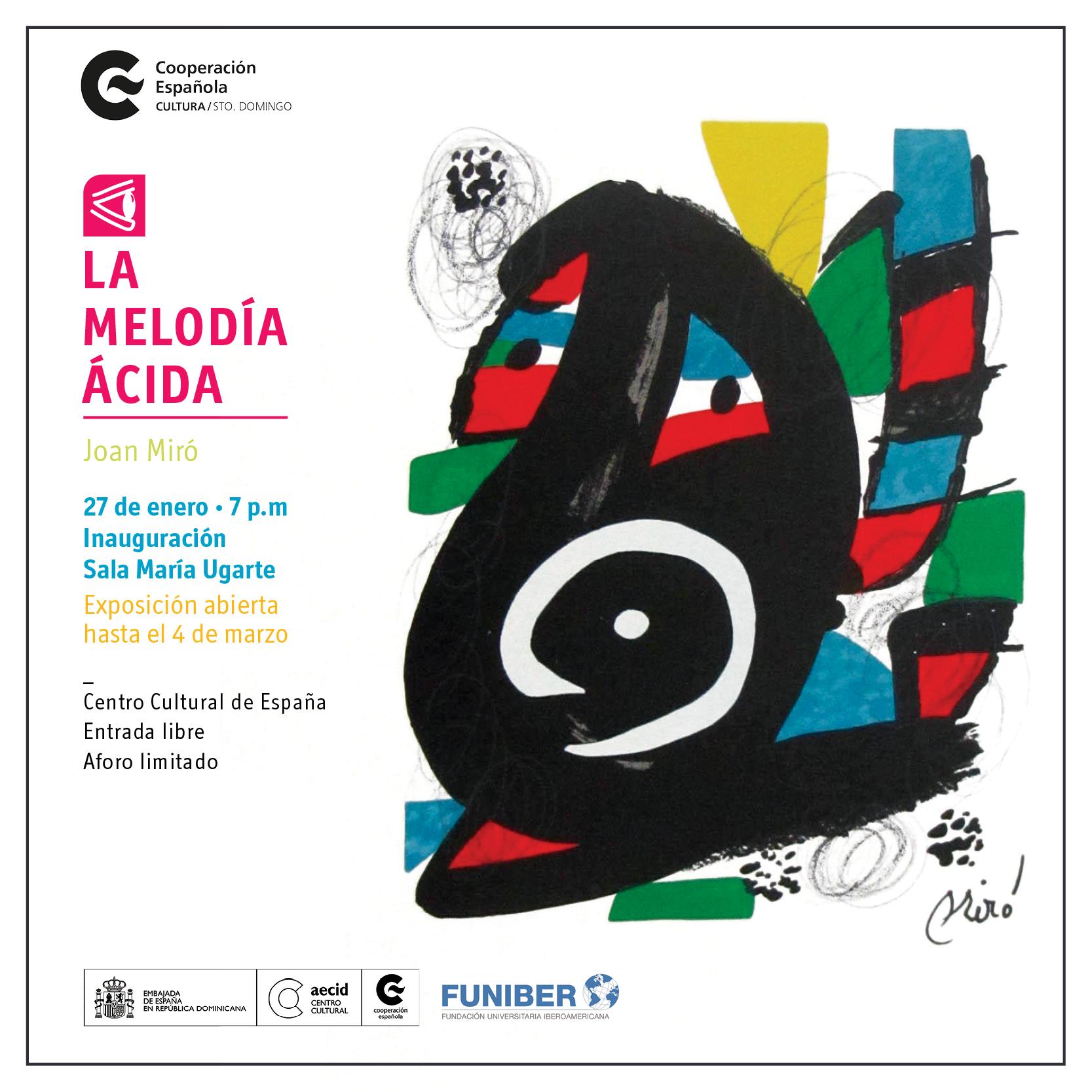 La Melodía Ácida, de Joan Miró. Obra Cultural de FUNIBER