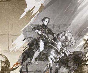 """La Tauromaquia"" de Francisco de Goya se exhibe en Tegucigalpa (Honduras)"