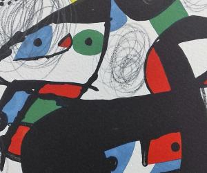 """""""Melodía Ácida"""" de Joan Miró y """"La Vida es Sueño"""" de Salvador Dalí se inauguran en Guatemala"""