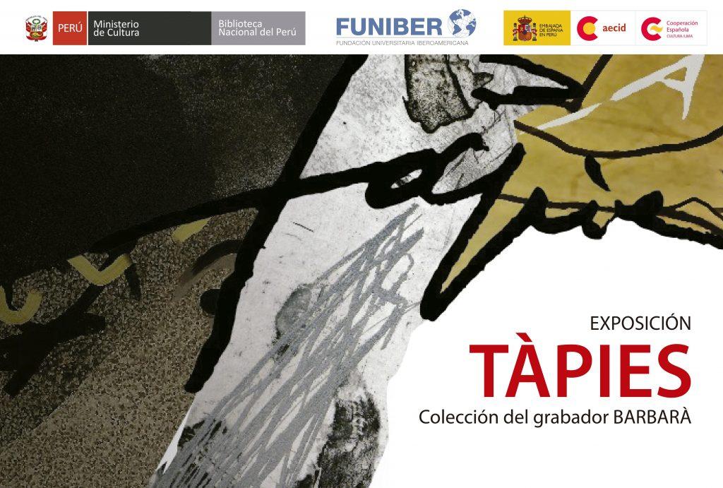 Exposición Tàpies en Perú