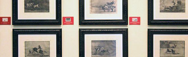 """Exposición """"La Tauromaquia"""" de Goya en la Biblioteca Pública Julio Mario Santo Domingo de Bogotá"""