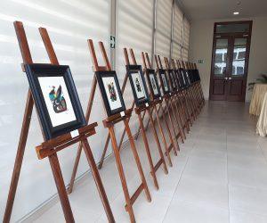 Exposición 'Dalí frente a Miró' en el Palacio Bolívar de Panamá