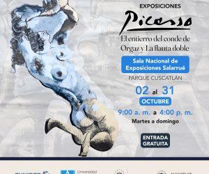 La Sala Nacional de Exposiciones Salarrué de El Salvador inaugura exposición de Picasso